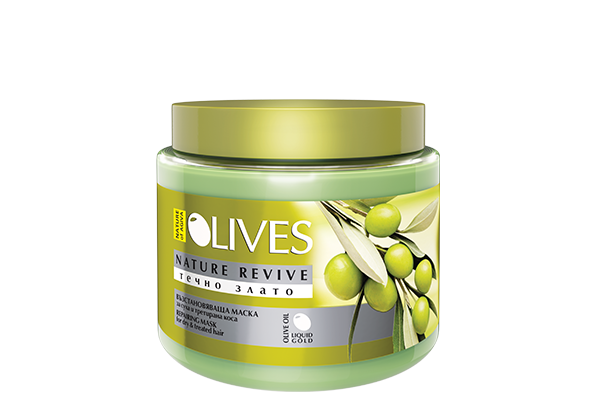 112 OLIVES hair mask