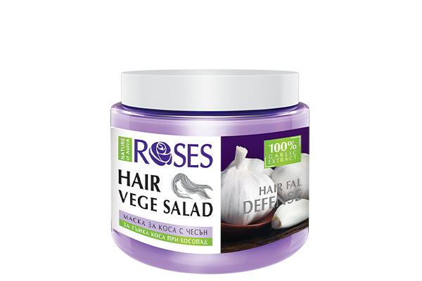 119 VEGE SALAD hair mask GARLIC