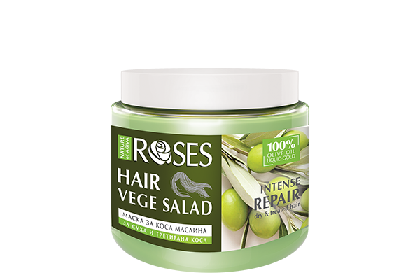 122 VEGE SALAD hair mask OLIVES2
