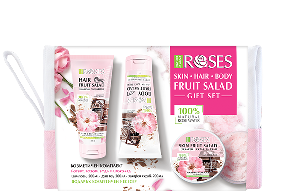 129 FRUIT SALAD pk ROSE shower gel2