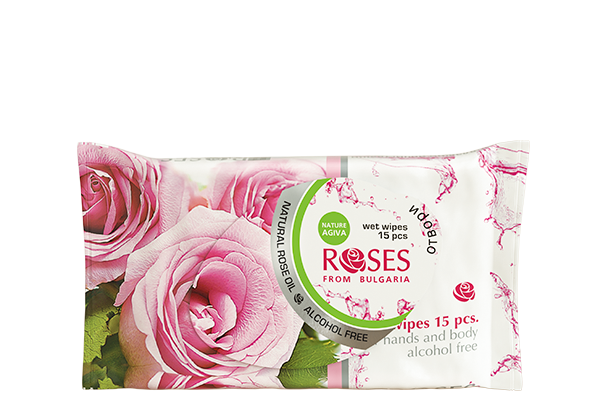 62 roses wet wipes