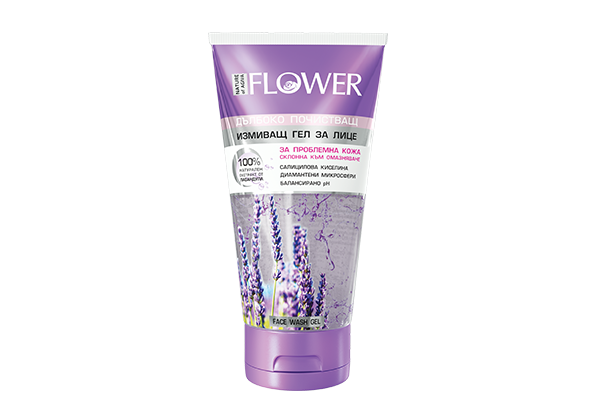 86 FLOWER face wash