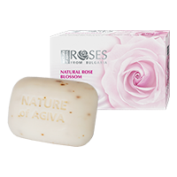 Nature Roses soap white2