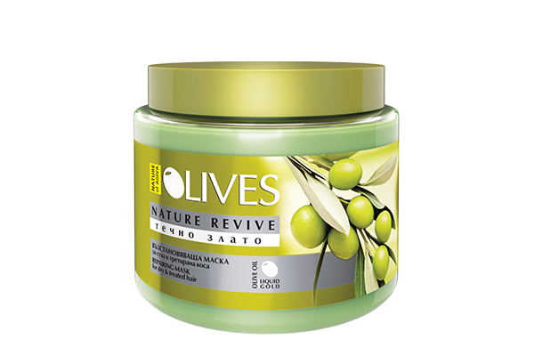 hair mask olives